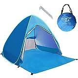 Neuf avec Fermeture à glissière Porte Pop Up Portable Tente de Plage...