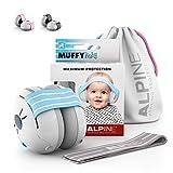 Alpine Baby Muffy Casque Anti bruit bébé : protection auditive pour bébés et tout-petits...