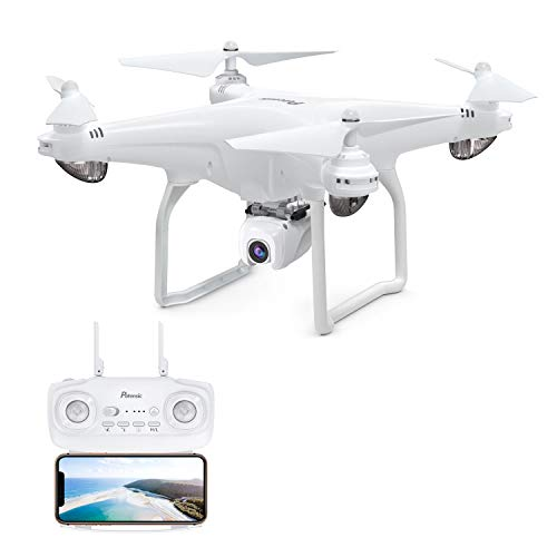 Potensic D58, Drone with Camera 1080P, GPS Quadcopter 120 Wide Angle 5G WiFi FPV, Remote Control, Follow Me, Orbit Mode, 18mins