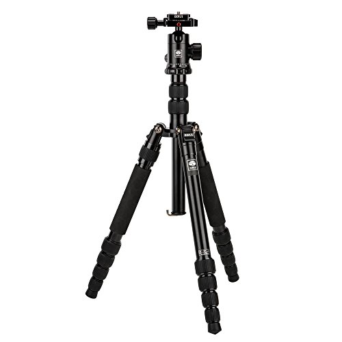 "SIRUI NT-1005X 55.1"" Lightweight Aluminum Camera Tripod with E-10 360° Ball Head - Convertible to Monopod"