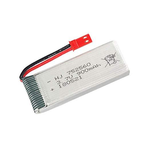 Batteria di backup ad alte prestazioni 3.7V 900mah lipo Batteria per 8807 8807W A6 A6W M68 Rc Quadcopter Drone Ricambi 3.7v Batteria ricaricabile 752560 1pz a 20p-2pz (Color : 20pcs)