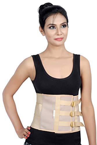 Wonder Care Abdominal Belt after delivery Tummy Reduction Trimmer Belly Binder Stomach belt Waist belt for Women & Men Abdomen (Large)