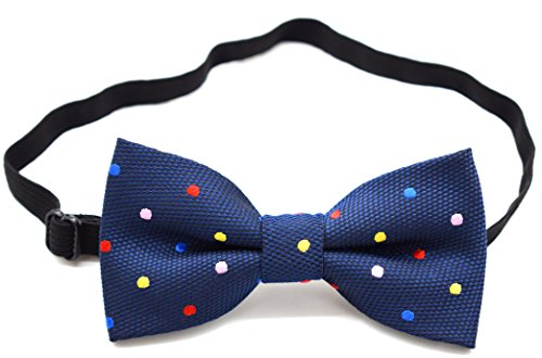 Carahere Little Boy's Handmade Pre-Tied Patterned Bow Ties For Kids