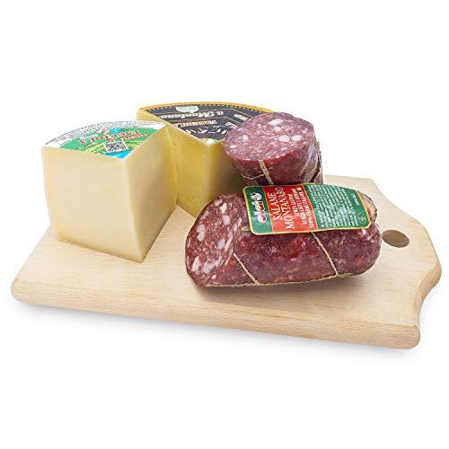 Mix Salami e Formaggi 'Sapori di Montagna' - Da antiche ricette della tradizione tosco-romagnola - CLAI e Faggiola