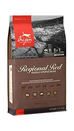 ORIJEN Dry Dog Food for All Breeds, Regional Red,...