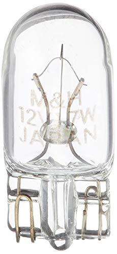 M&Hマツシマ 電球 12V1.7W クリアー T10 ウェッジ 2個入 AWB11 ライト バルブ