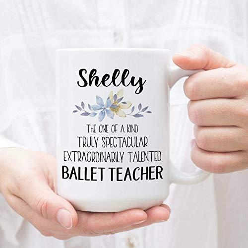 NA Taza Personalizada para Profesor de Ballet Regalo para Pr