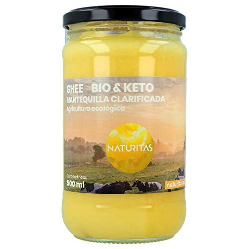 Naturitas Ghee Mantequilla Clarificada Bio   500ml   Agricul