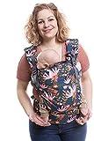 Boba X - Portabebés, mochila adaptable, microajustable, estructurada y blanda para bebés de 3-20 kg
