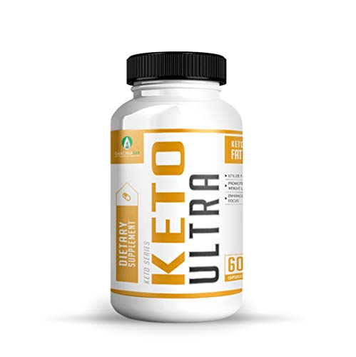 Keto Pills Diet - Keto Ultra Supplement for Fat Burning Weight Loss w/Ketogenic Diet BHB Salts - Formulated to Support Fat Burn, Energy Boost, and Maintaining Ketosis | 60 Count Bottle USA Made 3