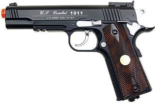 500 fps new full metal wg airsoft m 1911 gas co2 hand gun pistol w/ 6mm bb bbs(Airsoft Gun)