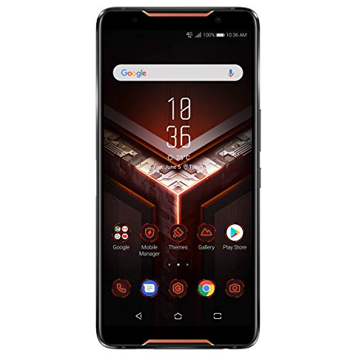 """ASUS Rog Phone (ZS600KL) - Smartphone de 6"""" (RAM de 8 GB, ROM de 128 GB, cámara de 12 MP, Android 8.1), Negro"""