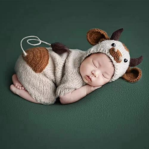Newborn Baby Photo Props Outfits Knitted Photography Shoot...