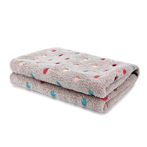 PAWZ Road Pet Dog Blanket Fleece Fabric Soft and...
