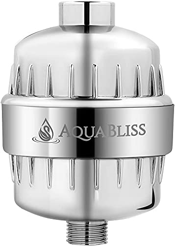 AquaBliss High Output Revitalizing Shower Filter - Reduces Dry...