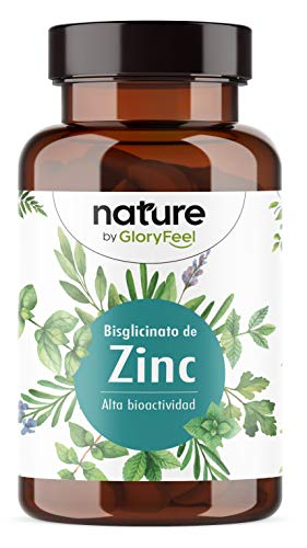 Zinc 25mg Alta dosificación - 400 Tabletas Premium Bisglicinato de...