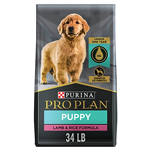 Purina Pro Plan High Protein Puppy Food DHA Lamb &...