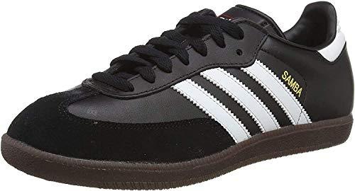 Adidas Samba, Zapatillas de Fútbol Hombre, Negro Black Running White, 43 1/3 EU