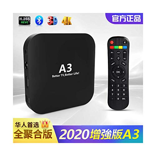 A3 Chinese Box 2020  Faster and More Stable Than UNBLOCK/HTV/FUNTV 4K 3D Mainland/Hong Kong/Macao/Taiwan 100K+ Movies/Dramas, 200+ Live Channels, 7 Days Playback