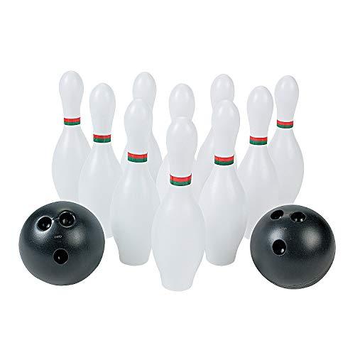 4. iBaseToy Kids Bowling Toy Set