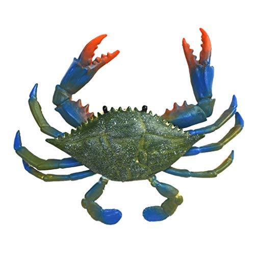 Faguo Criaturas increíbles Cangrejo Azul Figura de Juguete