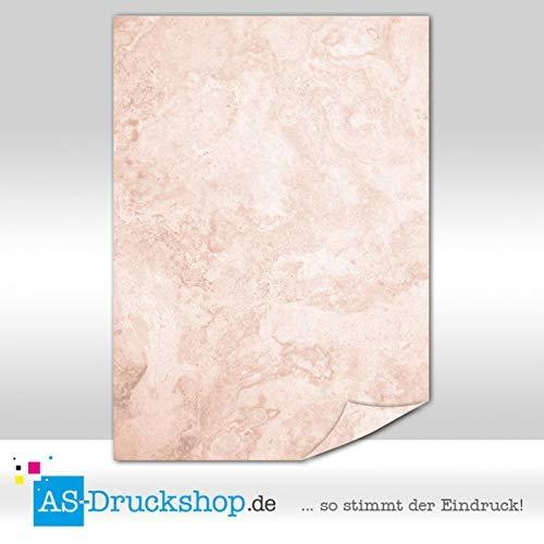 Carta marmorizzata  Botticino  Rosso/100 fogli/DIN A4/90 G carta offset