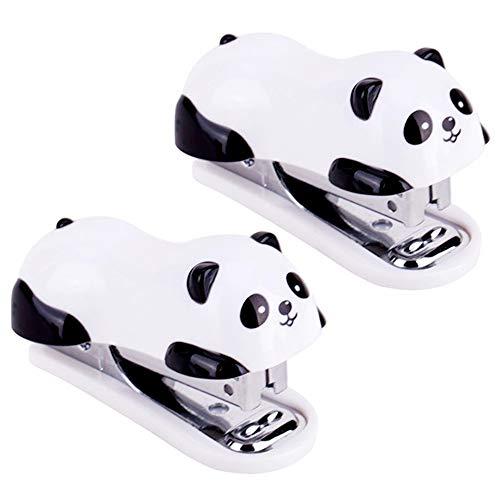 yyuezhi Cucitrici Portatili Portatili Panda Piccola Cucitrice Portatile per Ufficio di Alta Qualit...