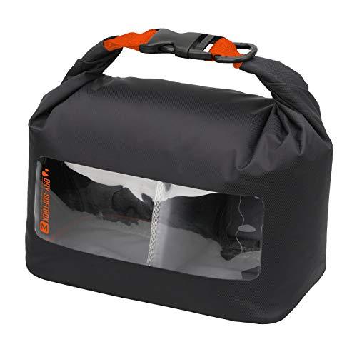 【Amazon.co.jp 限定】HAKUBA 防湿カメラケース ドライソフトボックス M ブラック×オレンジ AMZKDSBMBK