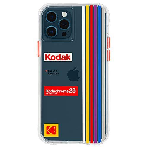 【KODAK by Case-Mate】 3.0m 落下耐衝撃ハイブリッドケース コダック White Kodachrome Super 8 for iPhone 12 / iPhone 12 Pro CM044826