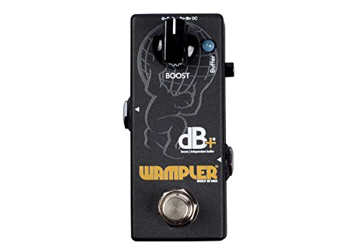 Wampler Decibel Plus dB+ Full Frequency Clean Boost & Buffering Pedal