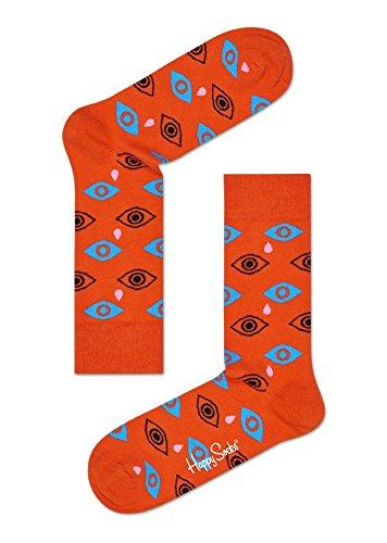 Happy Socks - Calzini unisex per adulti, SD11 Arancione Cry Baby Orange