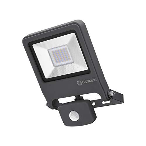 LEDVANCE LED Fluter, Leuchte für Außenanwendungen, integrierter Bewegungssensor, Warmweiß, 212,0 mm x 163,0 mm x 61,0 mm, ENDURA FLOOD Sensor