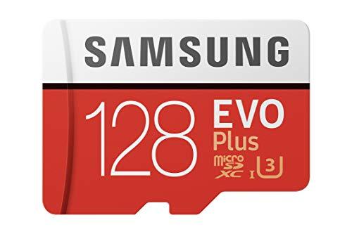 【Fire, Fire HD 8, Fire HD 10対応】 Samsung microSDカード128GB EVOPlus Class10 UHS-I U3対応 Nintendo...