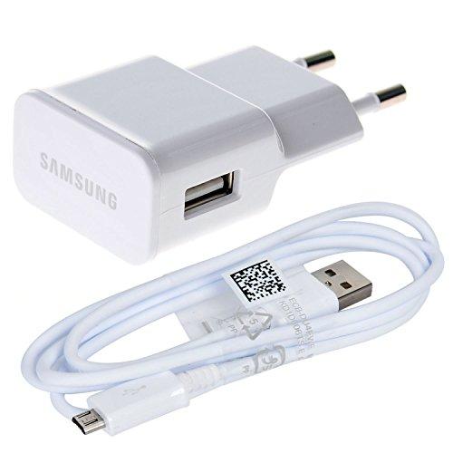 SAMSUNG Originale Bianco 2000 mAh (2 Amp) 2 Pin Caricabatteria in Imballaggio all'Ingrosso Adatto Galaxy Tab E 9.6