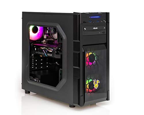 Ankermann Rabbit Gaming Gamer PC Intel i5-9400F 6X 2.90GHz NVIDIA GeForce GTX 1660 SUPER OC 6GB 16GB RAM 480GB SSD 1TB HDD Windows 10 PRO W-LAN Office Professional