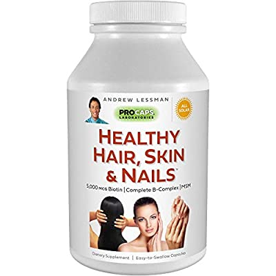 FOR THE HEALTHIEST APPEARANCE AND GROWTH OF YOUR HAIR, SKIN & NAILS – These tissues never stop growing and require specialized nutrients, which are impossible to satisfy even with the healthiest diet. Delivers the nutritional requirements to satisfy ...