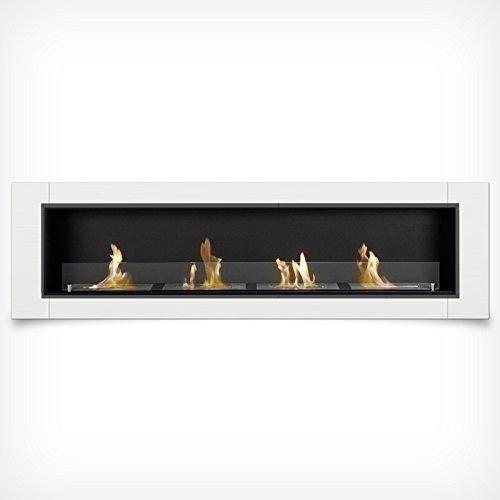 DRULINE 5 Different Luxury Bio Ethanol Fireplace Gel Fireplace Gel Wall Fireplace Cheminee - White, 4 Brenner