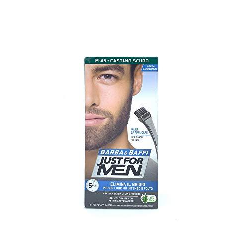 Just For Men Brush-In Color Gel Mustache & Beard Dark Brown M-45