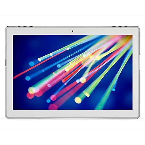 Lenovo TAB4 10 Tablet, Display 10.1 HD, Processore Qualcomm Snapdragon 425, 16GB espandibili fino a 128GB, RAM 2GB, WiFi, Android Nougat, White