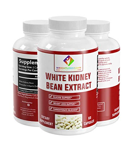 White Kidney Bean - WeightlossBAMN-Carb Blocker and Fat Absorber for Weight Loss, Remove Belly Fat Suppress Glucose & Keto Support Appetite Natural Weight Loss for Men and Women- Boobies 6