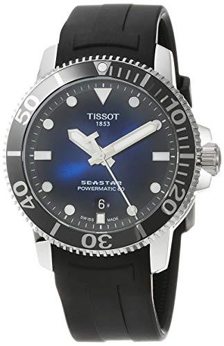 Tissot Men's Seastar 660/1000 Stainless Steel Casual Watch Black T1204071704100