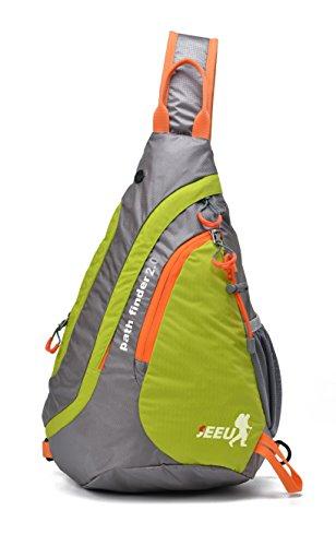 Sling Bag Backpack, Ultralight Water-Resistant Multipurpose Bag for Women Men Kids Small-(2.0 Version)