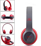 Multifunctional Wireless P47 Bluetooth V4.1 Stereo Headset Compatible with 3.5mm Audio Cable Support Music Card FM Radio