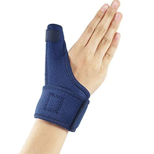 Hossom Daumenbandage, Reversible Daumenbandage für Links & rechts, Thumb Splint für Damen & Herren, Daumenschiene Für Sehnenentzündung & Kapselverletzung, Verstauchungen