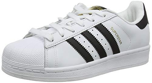 adidas Superstar, Scarpe da Ginnastica Unisex Adulto, Bianco (Ftwr White/Core Black/Ftwr White), 40 EU