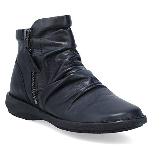 Miz Mooz Pleasant Women's Ankle Boot Black