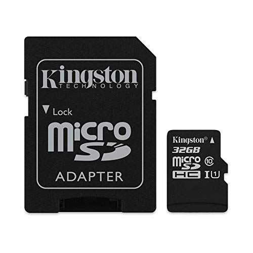 Kingston SDCS/32GB Canvas Select Scheda MicroSD 32...