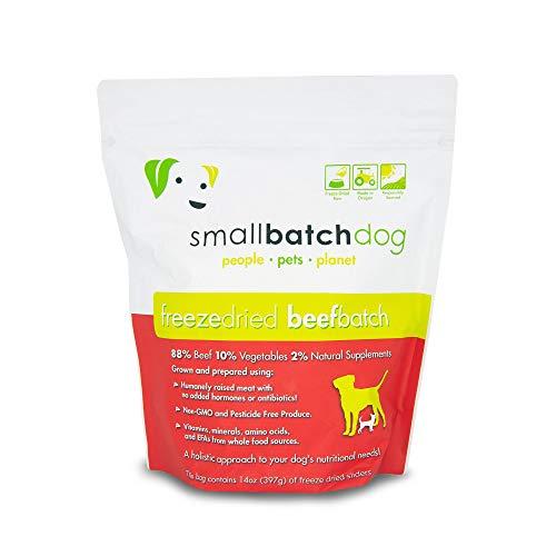 Small Batch Pets, Raw Freeze Dried Beef Sliders,...