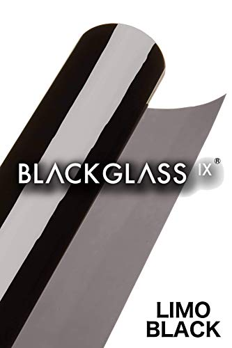 BLACKGLASS IX® Scheibentönungsfolie Spitzenqualität Tönungsfolienrolle für Autos, Transporter...
