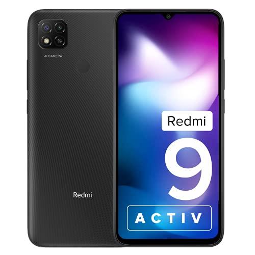 Redmi 9 Activ (Carbon Black, 4GB RAM, 64GB...
